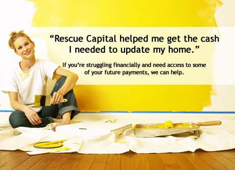 Rescue Capital can help you access your future payments